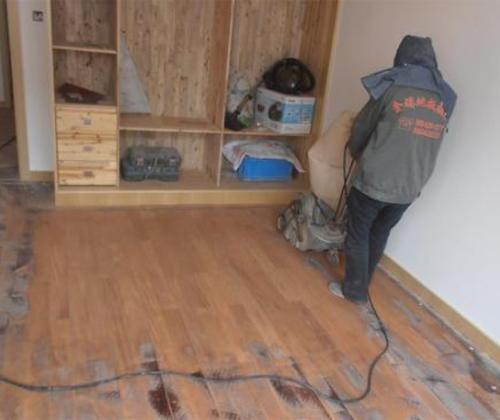 提供优质的旧地板翻新服务