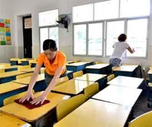 学校保洁-高性价比+优质团队!