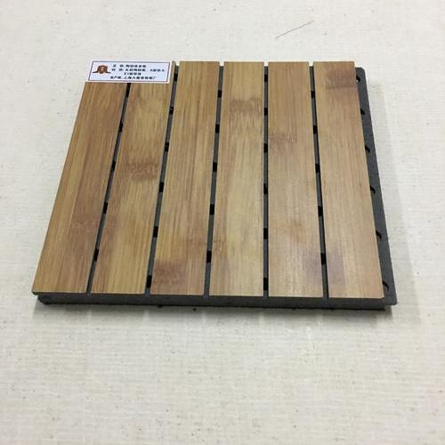 木皮免漆吸音板