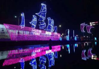 苏州湾中秋灯会9月点靓吴江东太湖