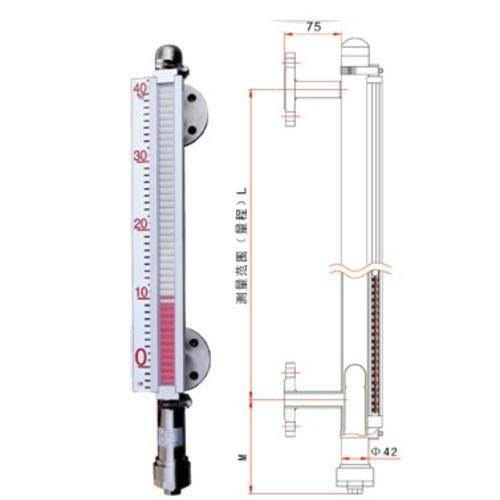 FX-B-UHZ-661普通型磁翻板液位计