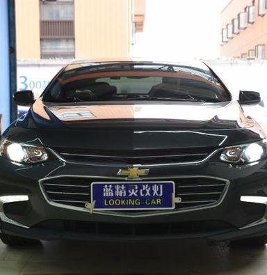 上海改车灯迈瑞宝XL改装升级双光透镜氙气大灯