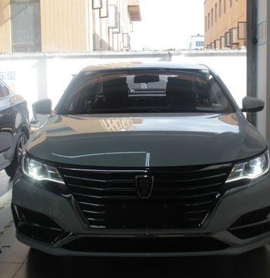 上海车友荣威EI6改装海拉5透镜飞利浦氙气灯