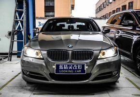 上海车灯改装宝马3系改装海拉5透镜飞利浦氙气大灯