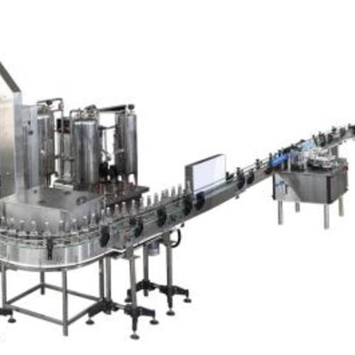 Linear filling machine