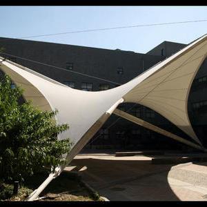 中美学院张拉膜结构