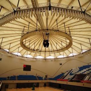 张拉体育场膜结构
