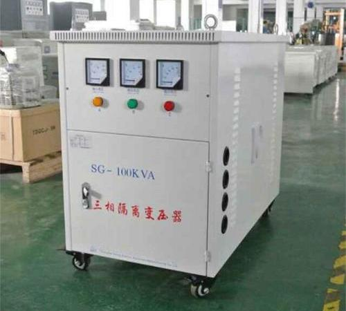 Three phase 220 V to 415V three phase dry type transformer special for Philippine import and export equipment