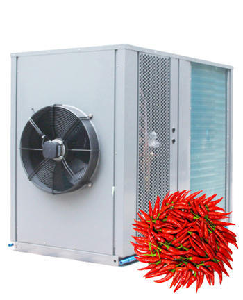 Application of heat pump dryer in drying pepper