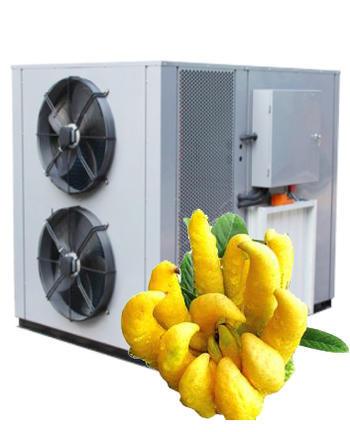 Application of air energy dryer in baking bergamot