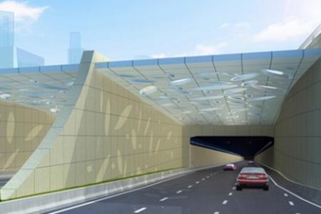 上海沿江通道越江隧道选用上海微升无线通信系统