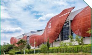 PTFE建筑膜材广泛应用于新式幕墙