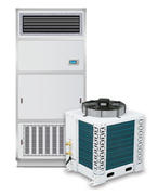 Air-cooled cooling dehumidifier