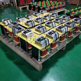 Single-phase rectifier transformer