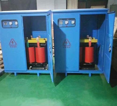 SG three phase dry type isolation transformer