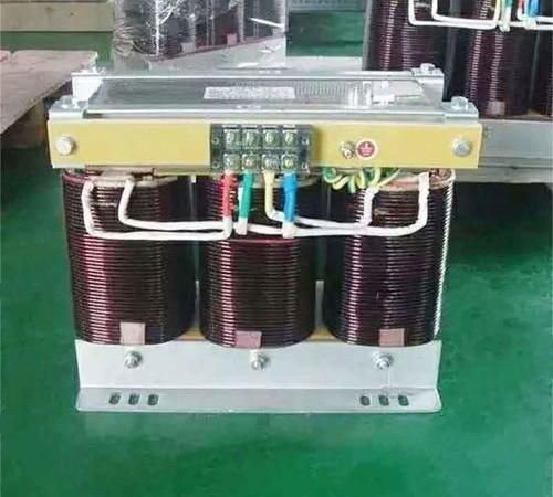 NC equipment supporting three-phase dry-type transformer