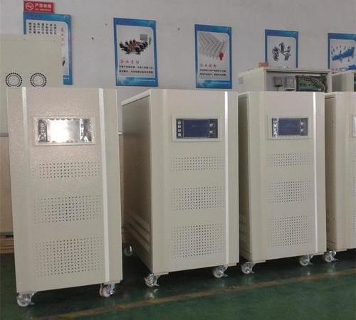 Intelligent contactless compensated voltage regulator