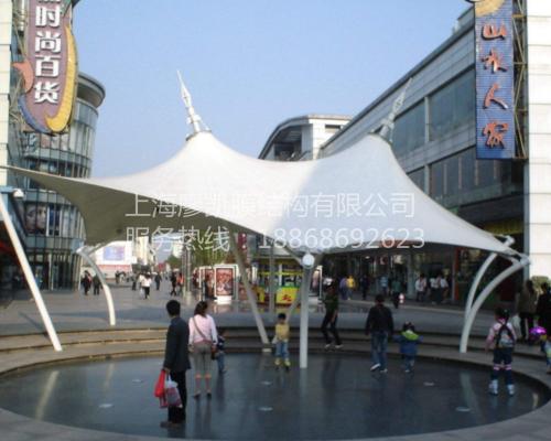 广场膜结构设施