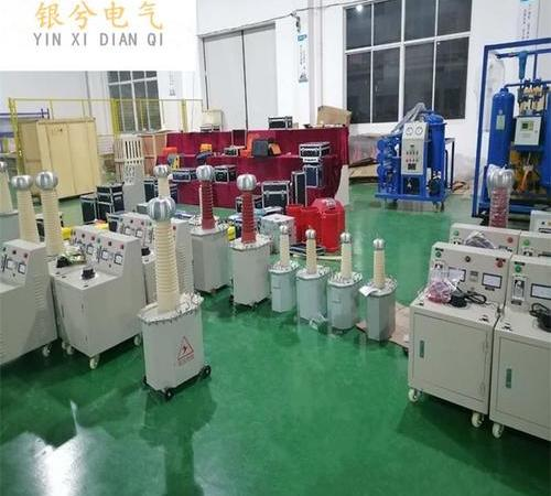 High voltage electrostatic electret power supply for meltblown cloth