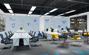 新媒体公司办公室装修适合采用哪种风格?