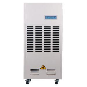Temperature adjustment of industrial dehumidifier
