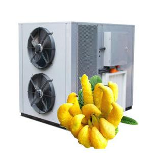 Application of air energy dryer in baking bergamot