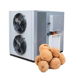 Application of heat pump dryer in drying walnuts