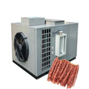 Application of heat pump dryer in baking sausage