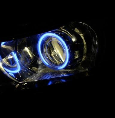 科鲁兹上海改灯 科鲁兹改氙气大灯双光透镜天使眼 科鲁兹灯光改装 上海蓝精灵出品