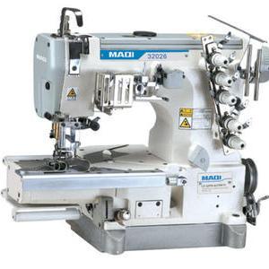 LS-32026-01CBRTF 高速小方头式绷缝机(环形罗纹裤头上松紧带用)