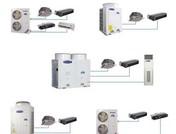 家用中央空调系统示意图