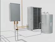 大金 地暖 多功能VRV 采暖系统 冷媒-水热交换器