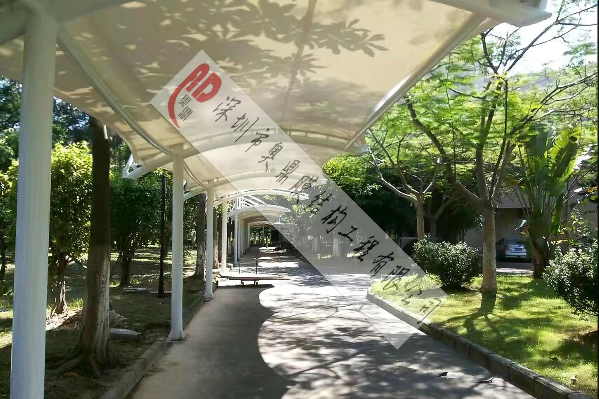 珠海农业银行IT基地走廊膜结构