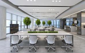 办公室隔间如许设想,更有特点!