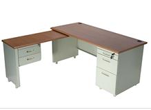 钢制办公桌RY-GZ006