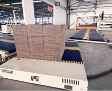 瓦楞纸板输送系统示例