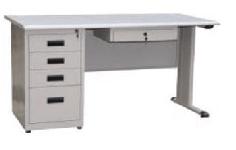 钢制办公桌RY-GZ002