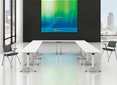 板式会议桌RY-B208