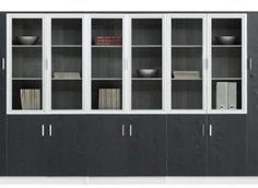 板式定制书柜RY-B0009