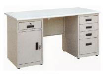 钢制办公桌RY-GZ005