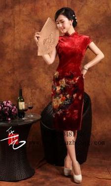 短旗袍029