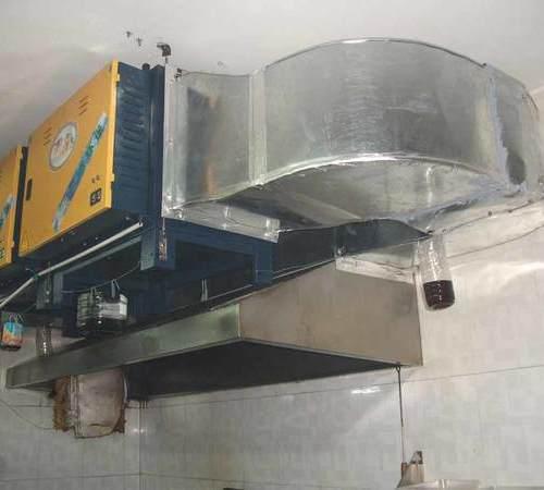 食品厂油炸车间:油烟净化设备