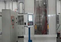数控立式单工位单轴淬火机床