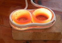感应加热设备淬火、锻打视频