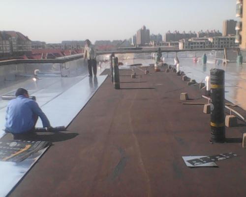 建筑屋面防水施工