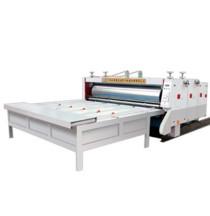 水墨瓦楞纸板双色印刷分压切角开槽机