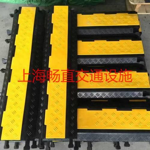 上海减速带 上海橡胶减速带 上海减速板 地面 减速地垄
