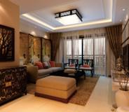 飘鹰锦和花园77平2室中式风格