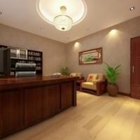 光大银行接待室中式风格