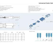 FUH3.5bar 滑板閥外形尺寸圖